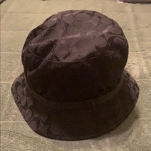 Black coach hat